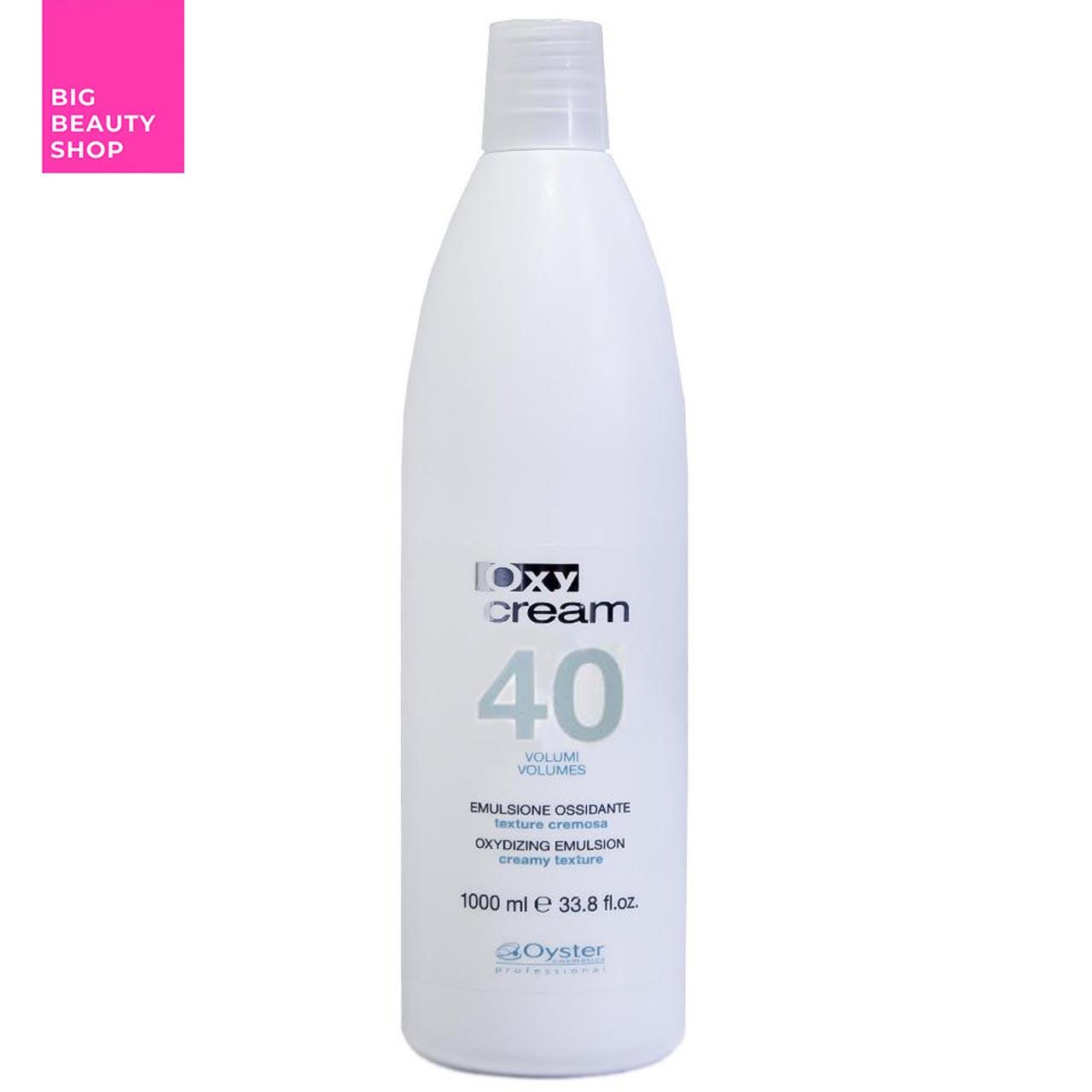 Окислительная эмульсия Oyster Cosmetics 12% (40 Vol.) Oxy Cream 1000 мл