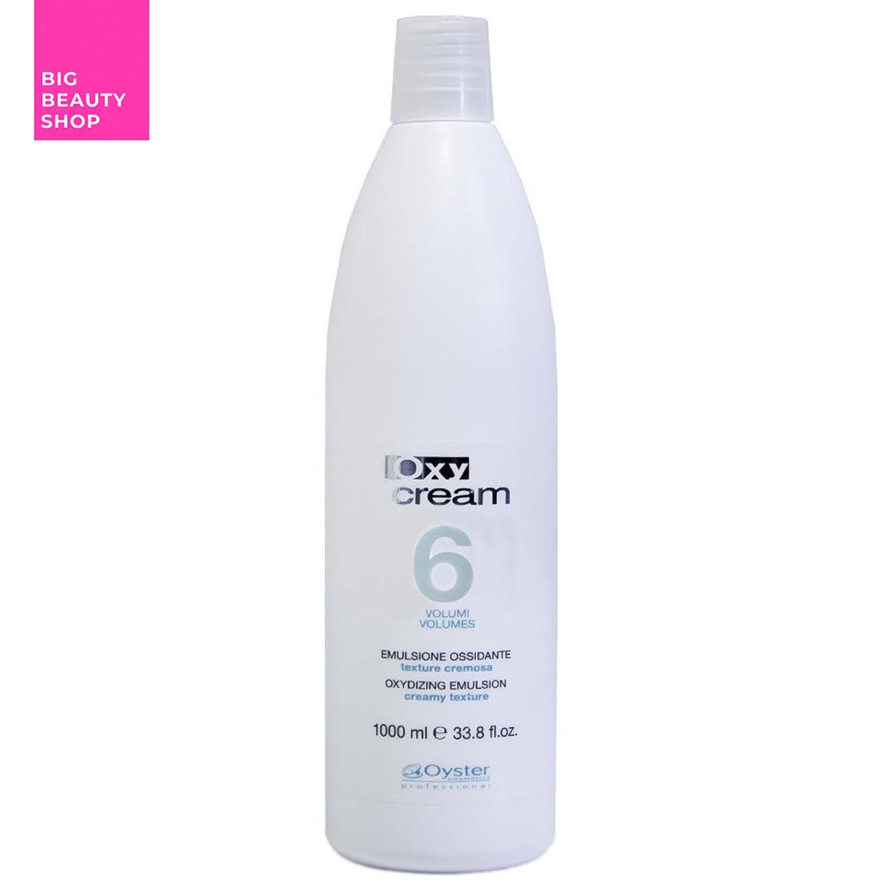 Окислительная эмульсия Oyster Cosmetics 1.8% (6 Vol.) Oxy Cream 1000 мл