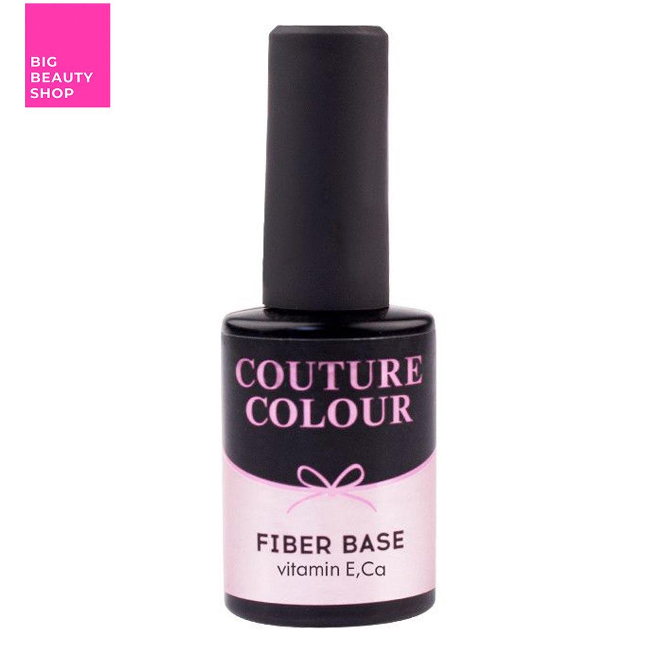 Основа под гель-лак Naomi Couture Colour Revital Fiber Base & Clear Pink 9 мл