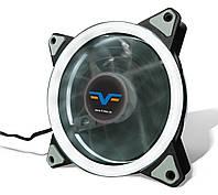 Вентилятор Frime Iris LED Fan Double Ring White, фото 1