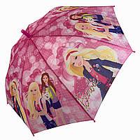 Детский зонт трость с куклой Барби / Barbie от Star Rain, 0107-1