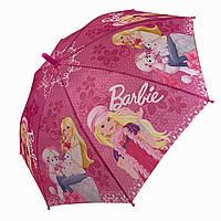 Детский зонт трость с куклами Барби / Barbie и собачками от Star Rain, 0107-3