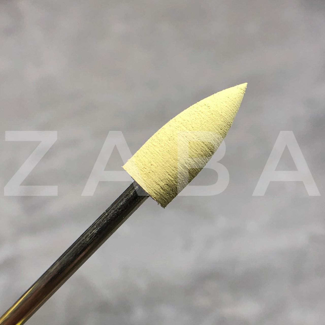 Фреза-полировщик силикон-карбидный желтый, шт