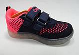 Кроссовки для девочки с мигалками тм Clibee, размер  23, 24, фото 2