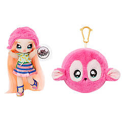 Кукла Нинна Наннерс Na! Na! Na! Surprise S1 W2 2-in-1 Fashion Doll & Pom Purse Series 2 Nina Nanners