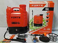 Опрыскиватель садовый аккумуляторный Forte CL-16A