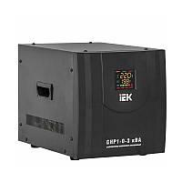 Стабилизатор напряжения релейный IEK Home СНР1-0- 3 кВА (2,4 кВт, переносной)