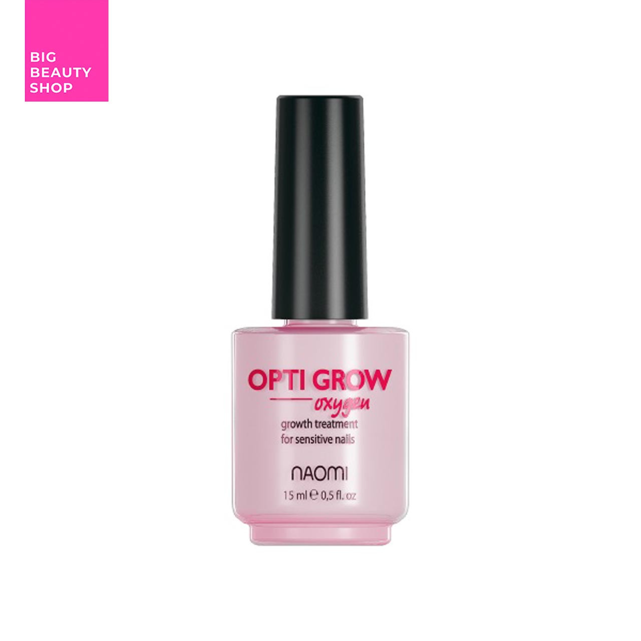 Средство для улучшения роста ногтей Naomi Opti Grow Oxygen 15 мл