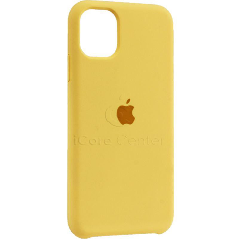 "Чохол-накладка силіконовий Silicone Case для iPhone 11 (6.1"") Canary yellow (Канарково-жовтий)"