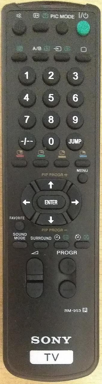 Пульт от телевизора SONY  RM-953