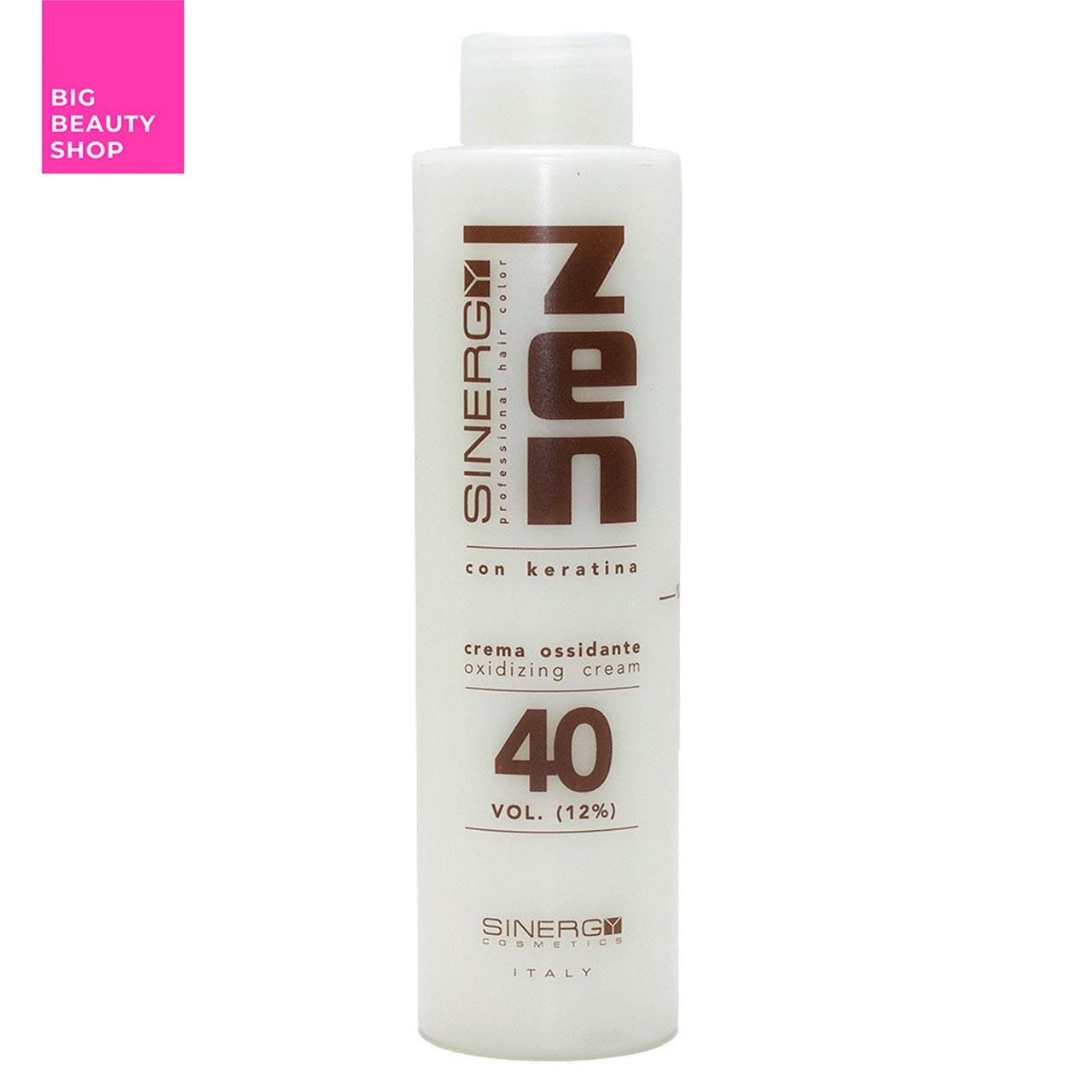 Крем-окислитель с кератином 12% ZEN Sinergy 150 мл