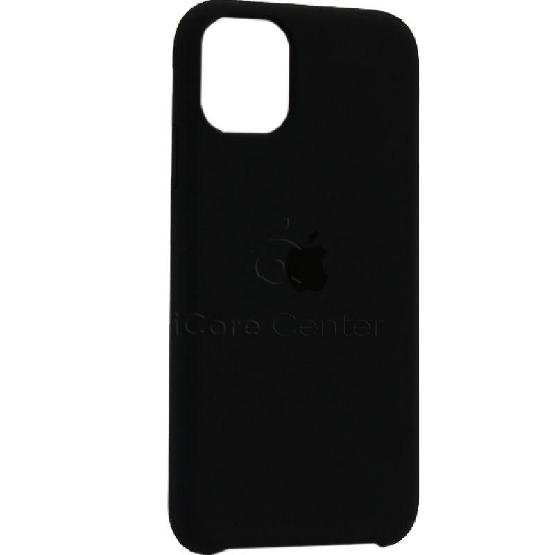 """Чохол-накладка силіконовий Silicone Case для iPhone 11 (6.1"""") Charcoal grey (Вугілля)"""