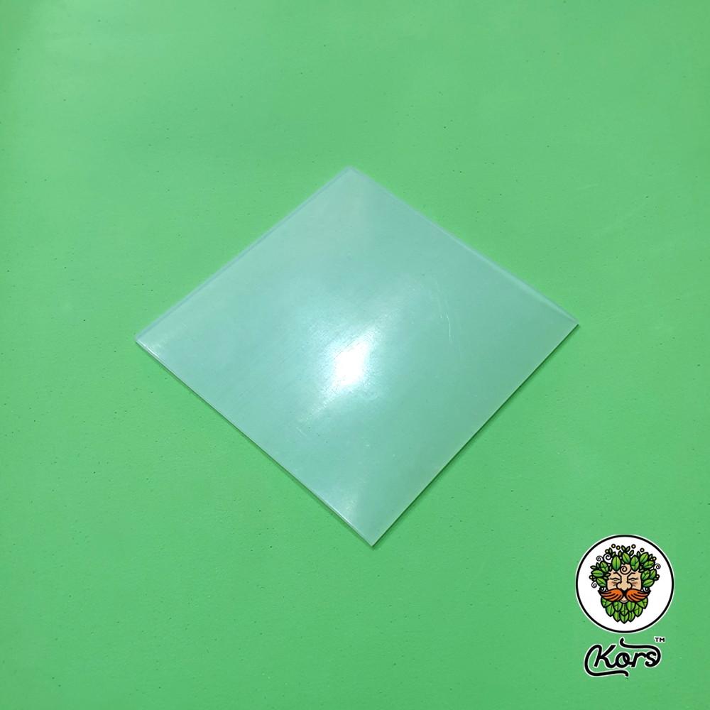 Пластина силиконовая пищевая 2мм. 350х350 мм.