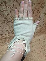 КАШЕМИР женские перчатки без пальцев, фото 1