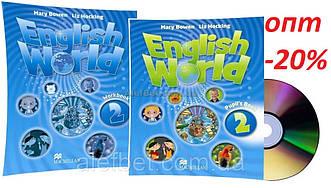 Англійська мова / English World / student's+Workbook. Підручник+Зошит (комплект), 2 / Macmillan