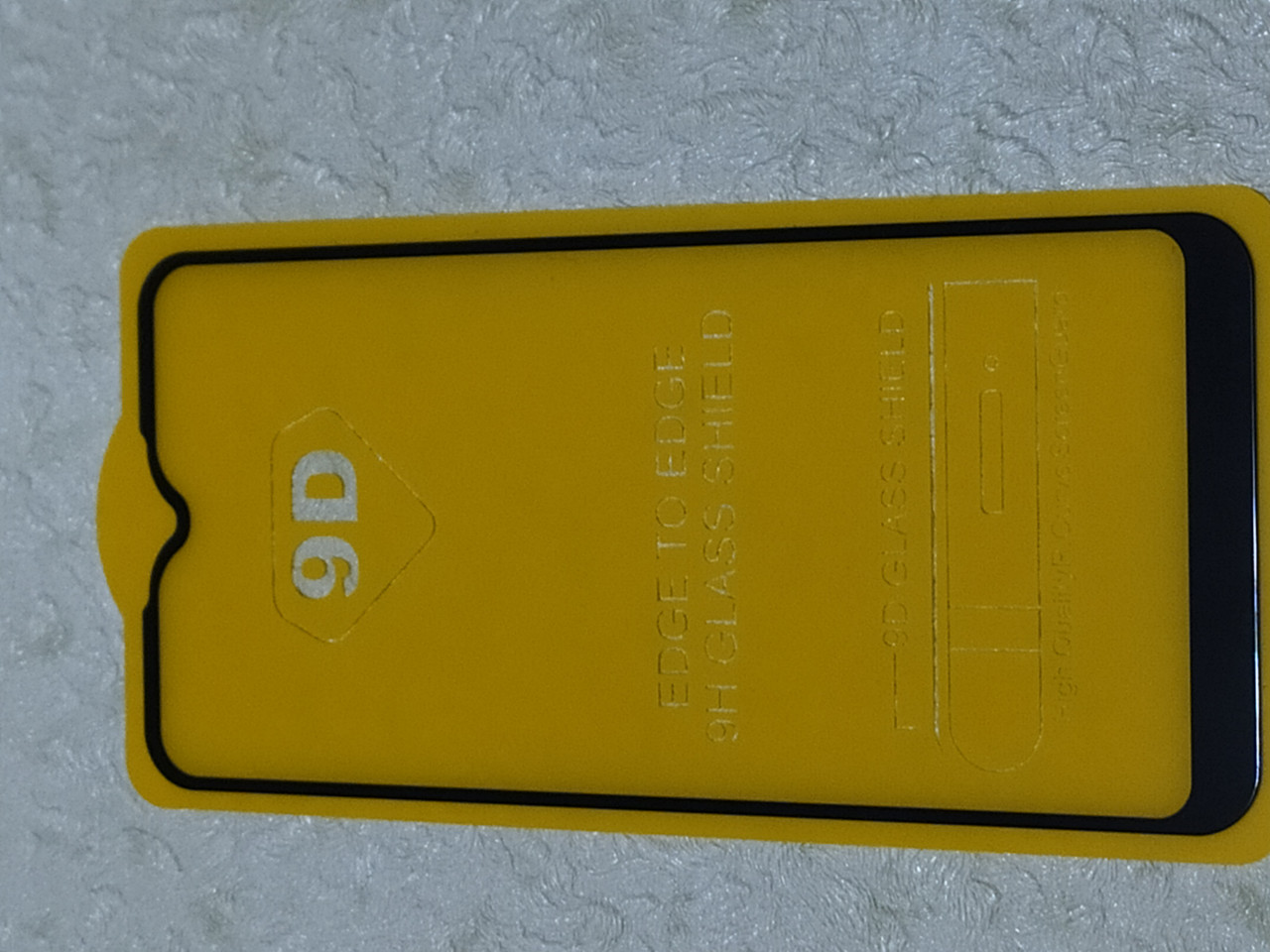 Защитное  стекло   Full Glue  Samsung  A01  (черн.)