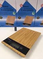 Настольные электронные кухонные весы, на кухню, для еды до 5кг на батарейках, кухонні ваги