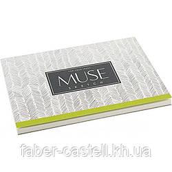 Скетчбук / альбом-склейка для рисования MUSE Sketch А6+, плотность 100 г/м2, 40 листов