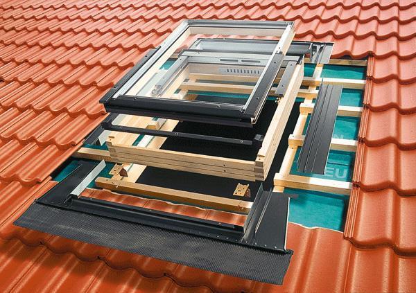 Гідроізоляційний оклад Roto для профільованих покриттів EDR REX WD 1x1 ZIE 54x78