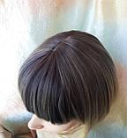 Парик каре прямое омбре TERESA мокка-платиновый, фото 8