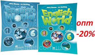 Англійська мова / English World / student's+Workbook. Підручник+Зошит (комплект), 6 / Macmillan