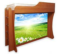 Широкая шкаф-кровать с фотопечатью для гостиной, спальни, детской, фото 1