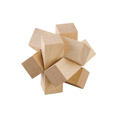 Деревянная игрушка Головоломка MD 2056 (Дикий узел MD 2056-12)