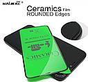 Полное покрытие Керамическое защитное стекло для iPhone 7/8 SE2020 Черный, фото 4