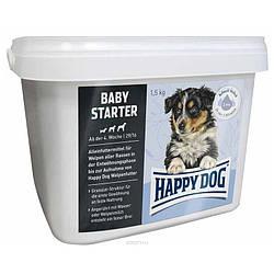 Корм Happy Dog Baby Starter для цуценят середніх порід з куркою 1,5 кг