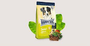 Корм Happy Dog Junior Lamb&Rice беззерновий для юніорів з яням та рисом 10 кг