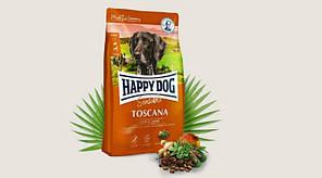 Корм Happy Dog Supreme Sensible Adult Toscana для собак з ягням та лососем 12,5 кг