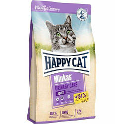 Корм Happy Cat Minkas Adult Urinary Care Geglugelle профілактика МКБ для котів з птицею 1,5 кг