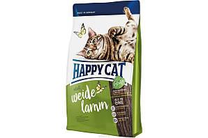 Корм Happy Cat Adult Supreme Weide-Lamm для дорослих котів з пасовищним ягням 1,4 кг