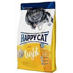 Корм Happy Cat Supreme Adult Light для дорослих котів з куркою та лососем 4 кг