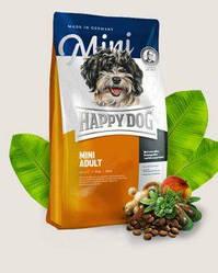 Корм Happy Dog Supreme Mini Adult для дорослих собак дрібних 4 кг