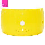 Профессиональная LED-лампа Sun Q18 для полимеризации геля, желтая 36W, фото 3