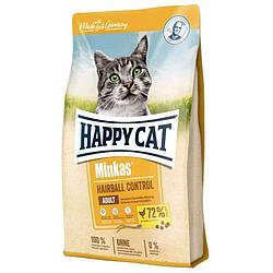 Корм Happy Cat Minkas  Hairball Gefugell  виведення шерсті для котів з птицею 4 кг