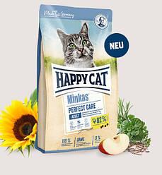 Корм Happy Cat Minkas Perfect Care Geflügel & Reis для ШКТ птиця рис для котів 0,5 кг