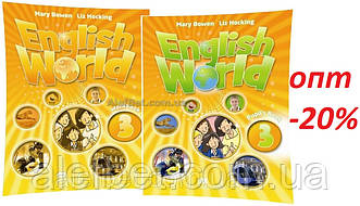 Англійська мова / English World / student's+Workbook. Підручник+Зошит (комплект), 3 / Macmillan
