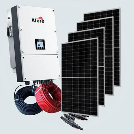 30 кВт солнечная сетевая электростанция под ключ Зеленый тариф Монокристаллические панели Runda Solar Крыша, фото 2