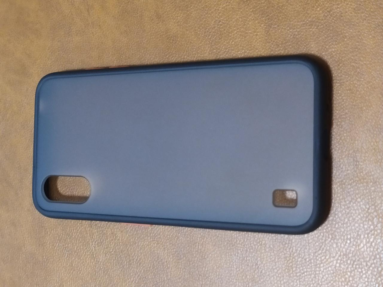 Чехол накладка  Totu Gingle Series Samsung A01 (черный)