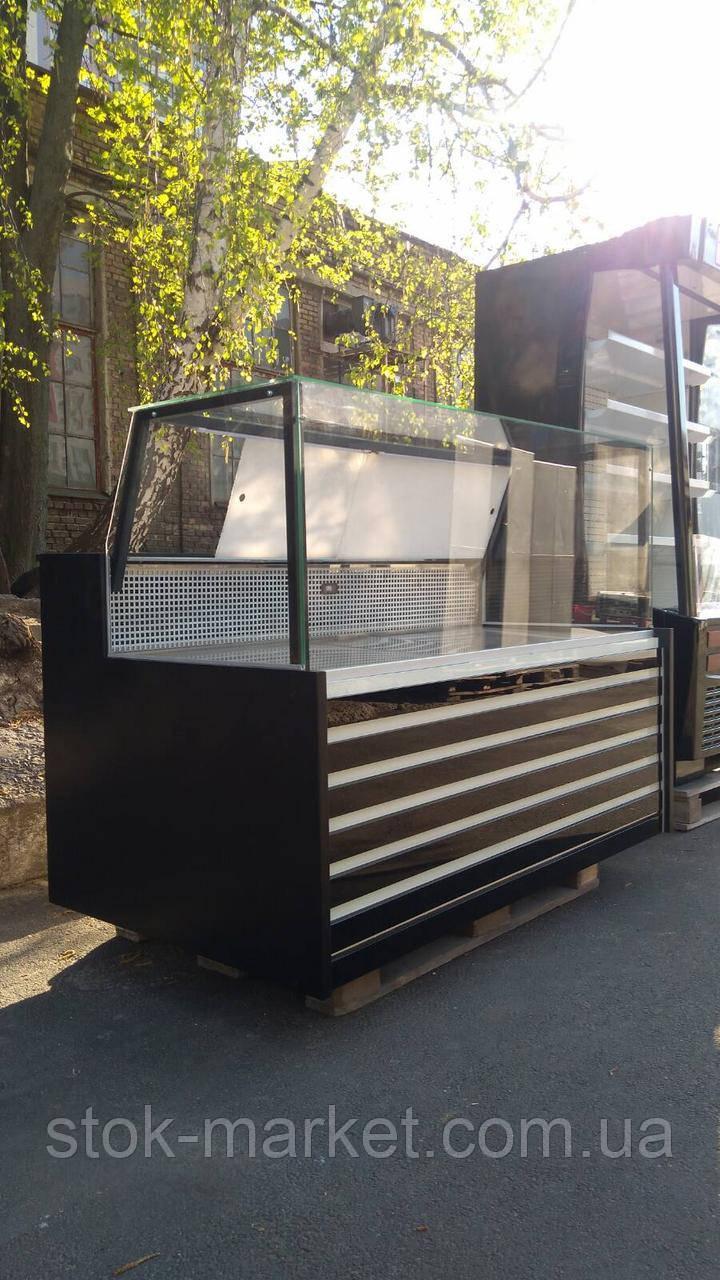 Холодильная витрина куб  1,6 м. бу. витрину купить бу.