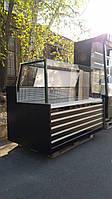 Холодильная витрина куб  1,6 м. бу. витрину купить бу., фото 1