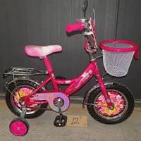 Детский двухколесный велосипед 12 дюймов Принцесса мустанг