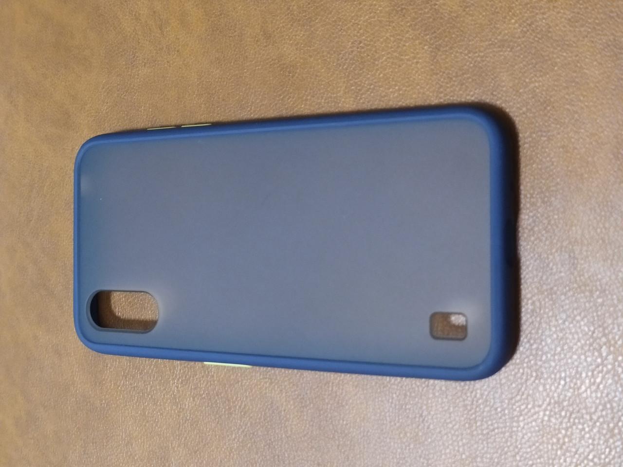 Чохол накладка Totu Gingle Samsung Series A01 (синій)