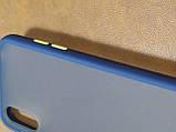 Чохол накладка Totu Gingle Samsung Series A01 (синій), фото 3