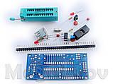 Отладочная плата Адаптер для программатора + ZIF панель для AVR микроконтроллеров ATmega8 ATmega48 конструктор, фото 5