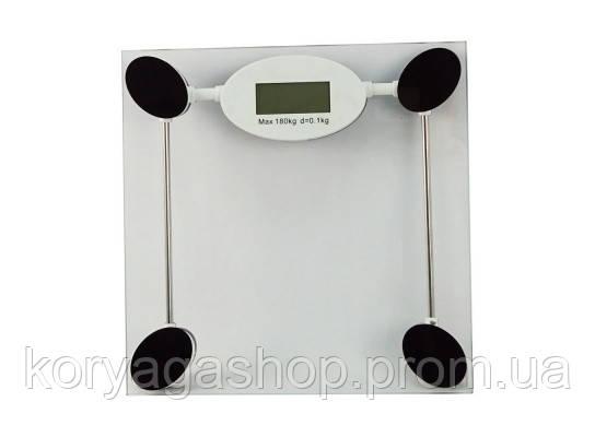 Весы напольные стеклянные