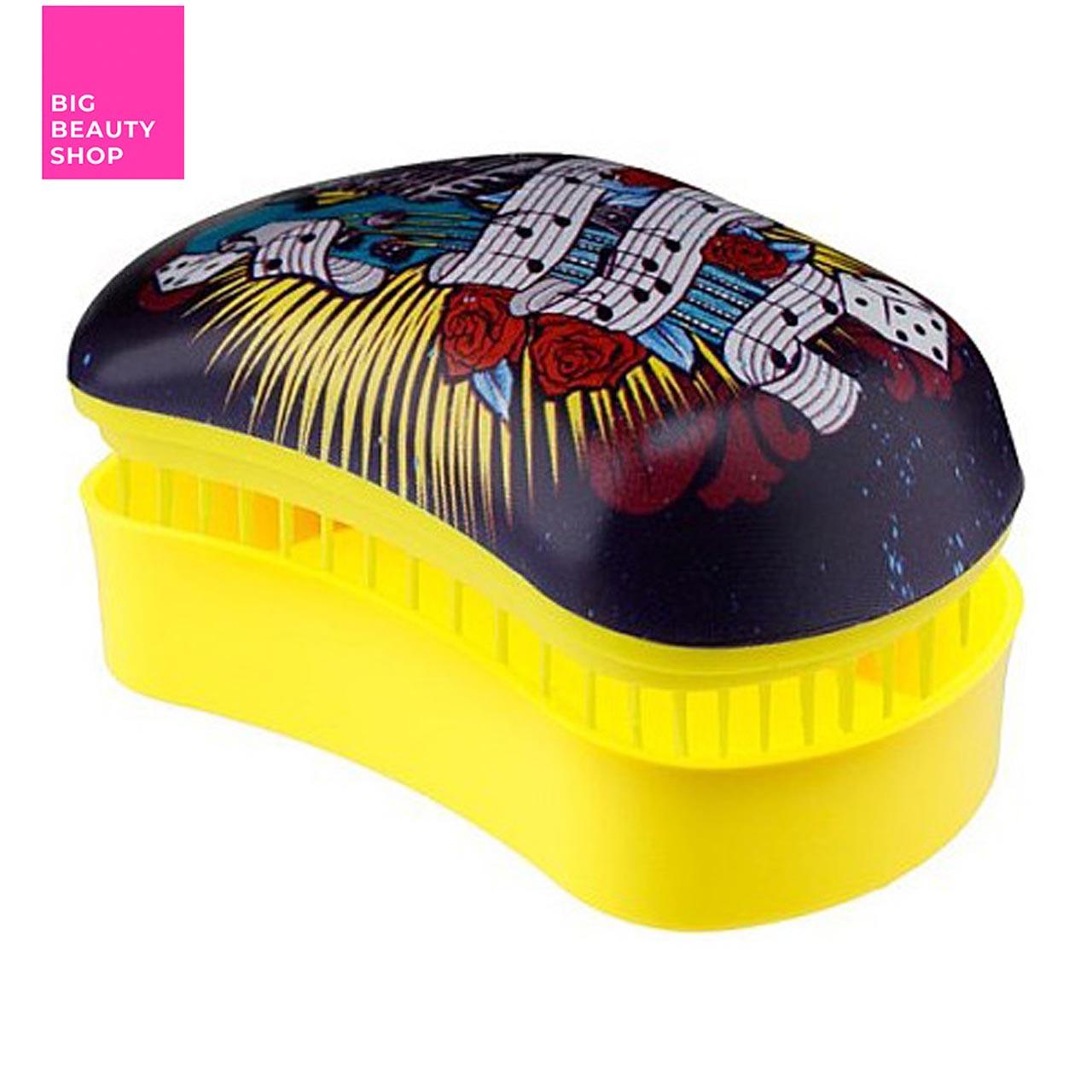Щетка для волос Dessata Original music-yellow