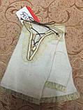 КАШЕМИР женские перчатки без пальцев, фото 2